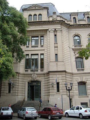 Rosario, Santa Fe - Rosario's old Customs Office, on Belgrano Avenue