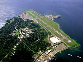 Subic Bay International Airport - Aerial view of Subic Bay International Airport