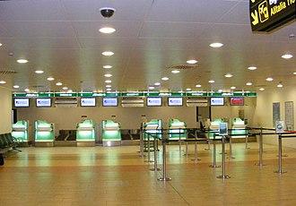Alitalia - Alitalia Check-in area in Florence