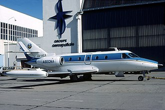 Aérospatiale Corvette - A Corvette, September 1983