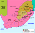 Africa dau Sud - Segonda Guèrra dei Boers.png