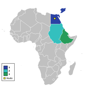 1959 African Cup of Nations - Participating nations