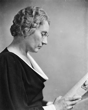 1954 in Canada - Agnes Macphail