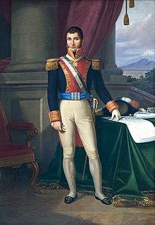 Agustín de Iturbide Mexican army general and politician, 1st emperor of Mexico