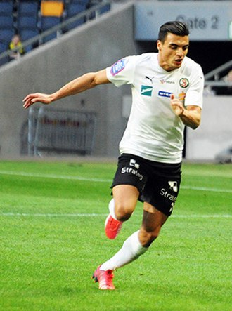 Ahmed Yasin Ghani - Yasin playing for Örebro SK in 2015.