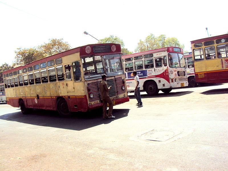 File:Ahmedabad AMTS Bus.JPG