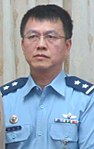 Air Force (ROCAF) Lieutenant General Cheng Jung-feng 空軍中將鄭榮豐 (Voice of America 美國之音 VOA Image news-taiwan-mnd-on-missing-flighter-jet-pilot-for-window-20171109).jpg