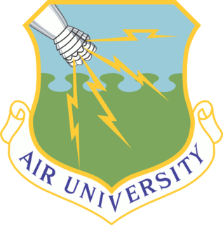 Air University (United States Air Force) U.S. Air Force military education institution