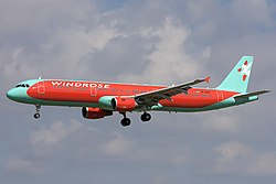 Airbus A321-214, Wind Rose Aviation JP7680941.jpg