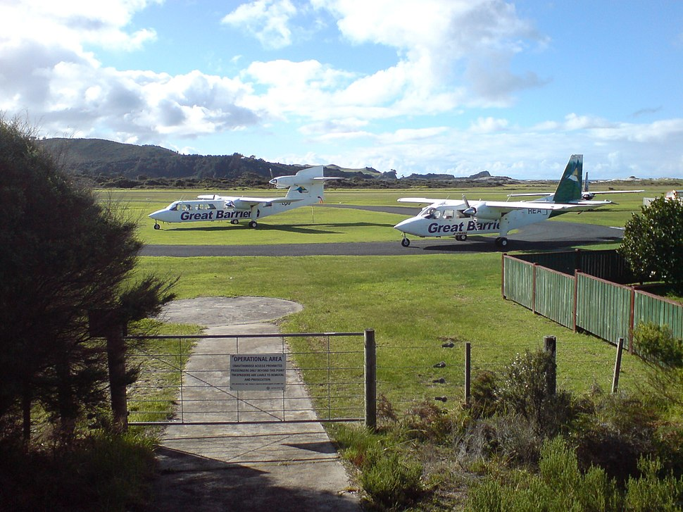 Aircraft Great Barrier Island Aerodrome