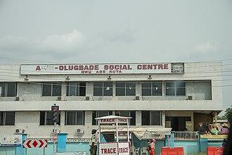 Abeokuta - Image: Akin Olugbade Social Centre, Owu, Abeokuta, Ogun state