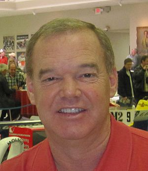 Al Unser Jr. - Al Unser Jr. at the Indianapolis Motor Speedway in March 2011.