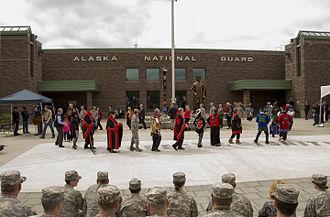 Byron Mallott - Alaska National Guard receives new commanding general