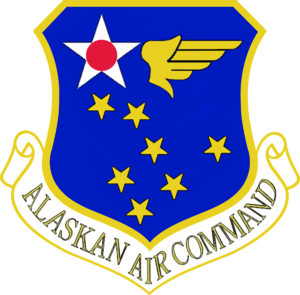 Alaskan Air Command - Shield of Alaskan Air Command