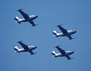 27 Squadron SAAF - Piaggio P166S Albatross formation of 27 Squadron