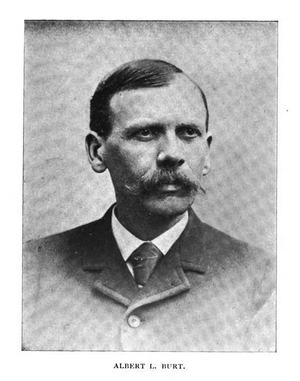 A. L. Burt - Undated portrait of Albert Levi Burt