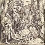 Albrecht Dürer, The Holy Family with Two Music-Making Angels, 1511, NGA 6796.jpg