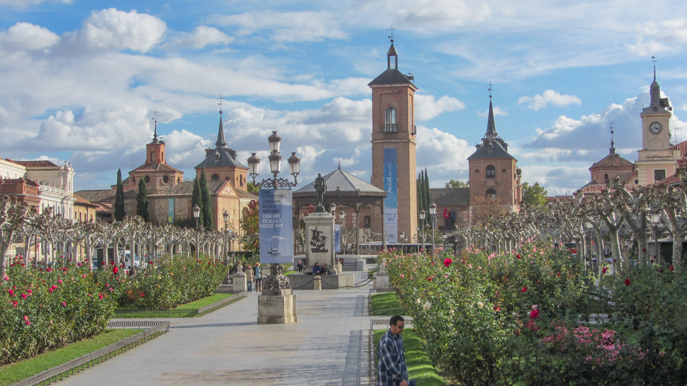 Alcalá de Henares (RPS 08-11-2014) Plaza de Cervantes