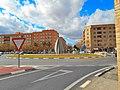 Aldaia. Rotonda del carrer València amb Blasco Ibáñez.JPG