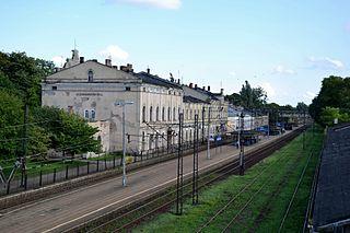 Aleksandrów Kujawski railway station