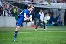 Alen Halilovic - Croatia vs. Portugal, 10th June 2013 (2).jpg