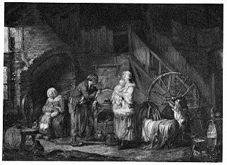 The Knife Grinder and his Family