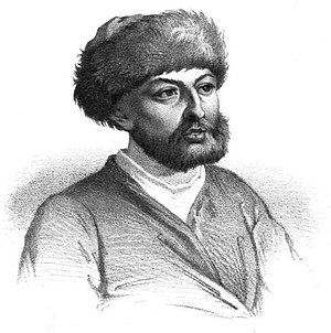 Alexander Mavrocordatos - Illustration from 1854