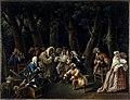 Alexis Peyrotte - Le Conseil des singes ou Les politiques au jardin des Tuileries - P703 - Musée Carnavalet.jpg