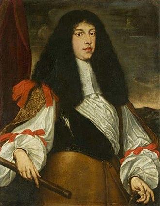 Alfonso IV d'Este, Duke of Modena - Portrait by Justus Sustermans