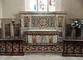 All Saints Church Farley, Wiltshire, England - chancel sanctuary.jpg