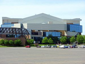 Das Allen County War Memorial Coliseum in Fort Wayne