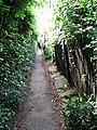 Alleyway past back gardens - geograph.org.uk - 1293822.jpg