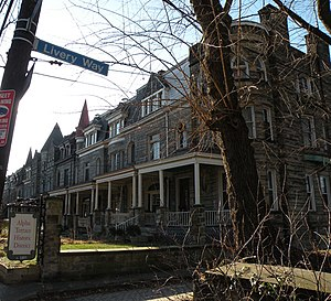 East Liberty (Pittsburgh) - Image: Alpha Terrace Historic District