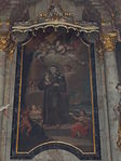 Altar painting of Saint Anthony of Padua. Church of Saint Francis. Listed ID 41. - Budapest.JPG