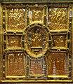 Altare di s. ambrogio, 824-859 ca., fronte dei maestri delle redentore tra apostoli e simboli evangelisti 01.jpg
