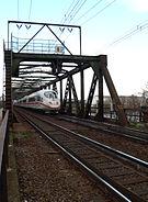 Alte Niederräder Brücke ICE