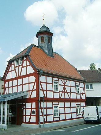 Liederbach am Taunus - Image: Altes rathaus liederbach 007