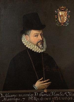 Álvaro Manrique de Zúñiga, marqués de Villamanrique - Álvaro Manrique de Zúñiga