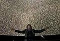 Alyssa Goodman under the Gaia Stars at New York's Hayden Planetarium.jpg