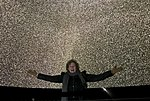 Alyssa Goodman under the Gaia Stars at New York's Hayden Planetarium.jpg