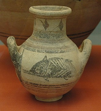 Amathus - Image: Amphora from Amathus at the British Museum