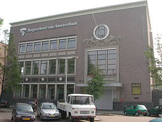 Amstel Brewery - Former Amstel Brewery in the Netherlands, now a school.