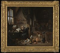 An alchemist in his laboratory Wellcome L0075403.jpg