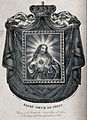 An image of Christ showing his Sacred Heart is crowned by an Wellcome V0035654.jpg