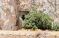 Ancient rock cut tomb 1 - Santorini - Greece - 03.jpg