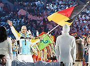 Andre Lange at 2010 Olympic Games Opening Ceremony