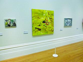 Andre Stitt - André Stitt, John Moores exhibition at Walker Art Gallery, Liverpool (2012). View of The Little Summer of St Michael