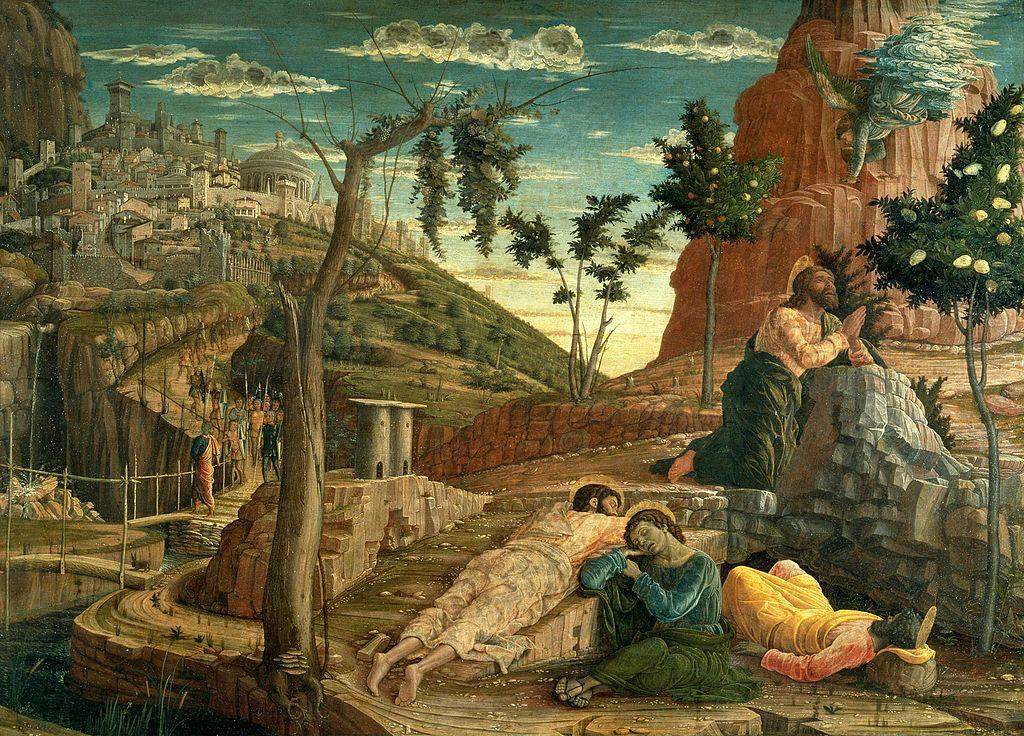 겟세마네 동산에서의 고뇌 (안드레아 만테냐, Andrea Mantegna, 1459년)