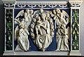 Andrea della robbia, madonna col bambino in gloria d'angeli, con restauri e integrazioni del xix secolo.jpg