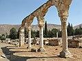 Anjar, Lebanon, Arches, Umayyad palace.jpg